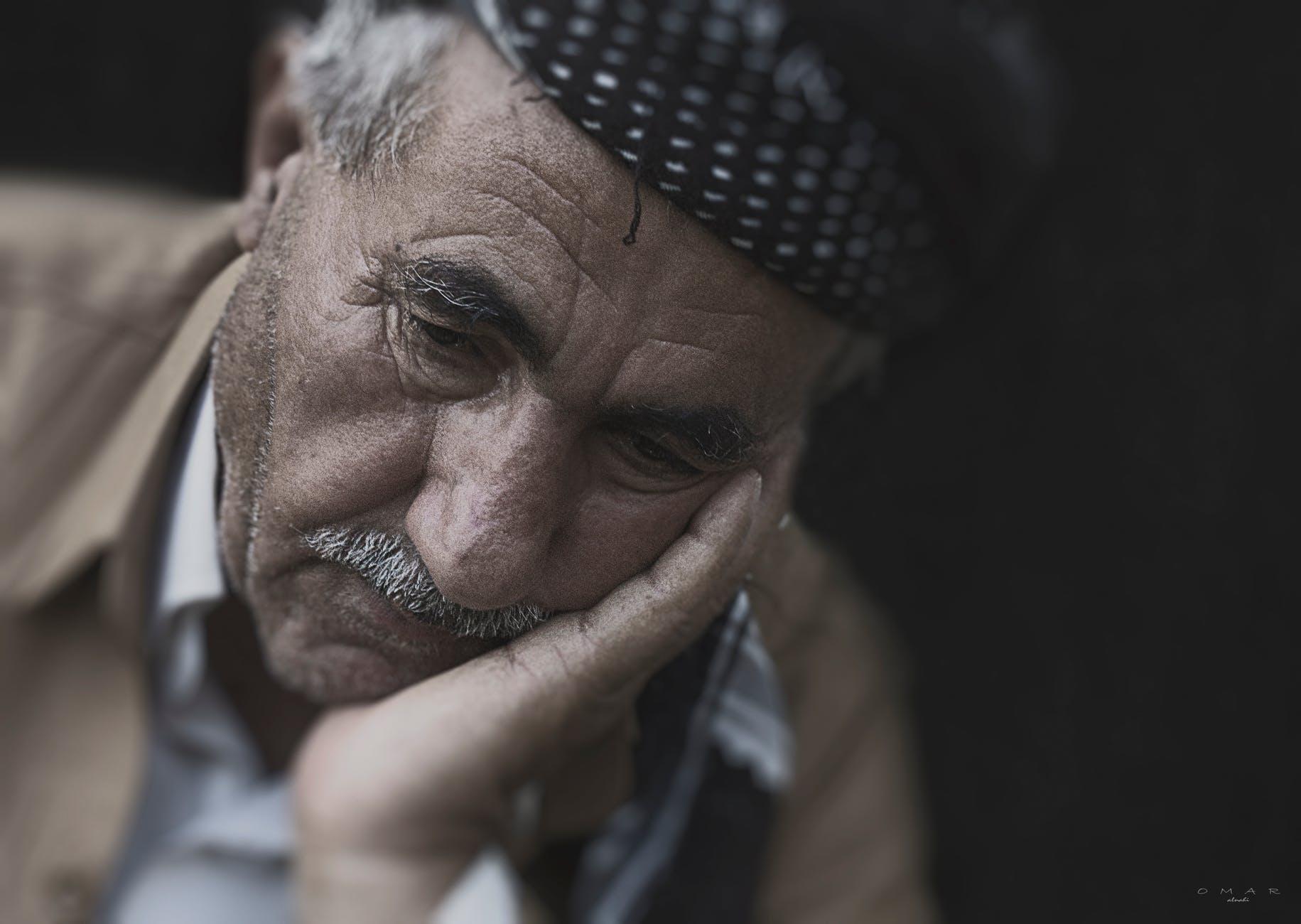 man person portrait old